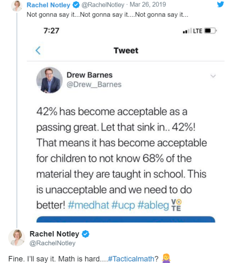 Rachel Notley Twitter Win